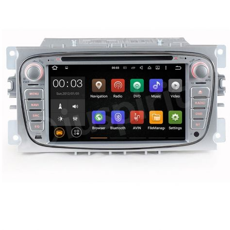 ANDROID DVD autoradio 2 DIN navigatore Ford Focus Mondeo C-Max S-Max