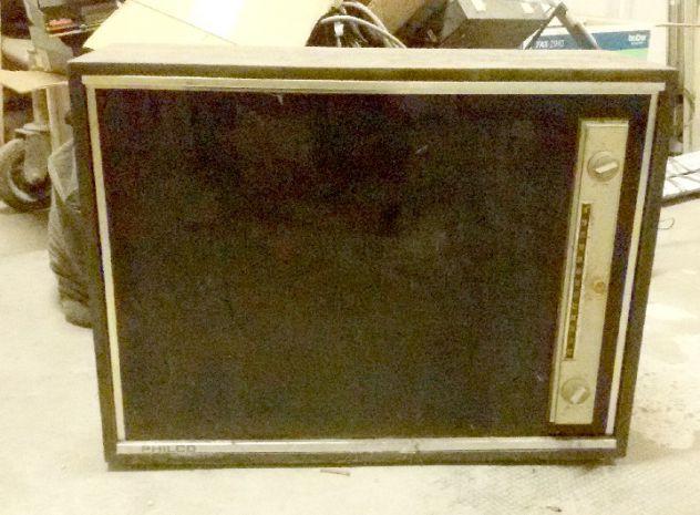 Televisore Vintage Philco Black Slim