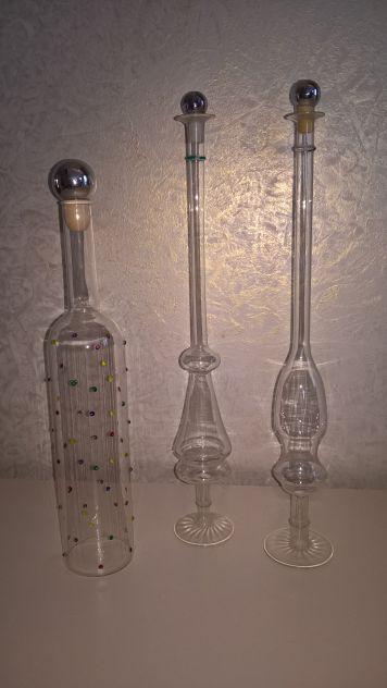 Bottiglie da grappa da collezione