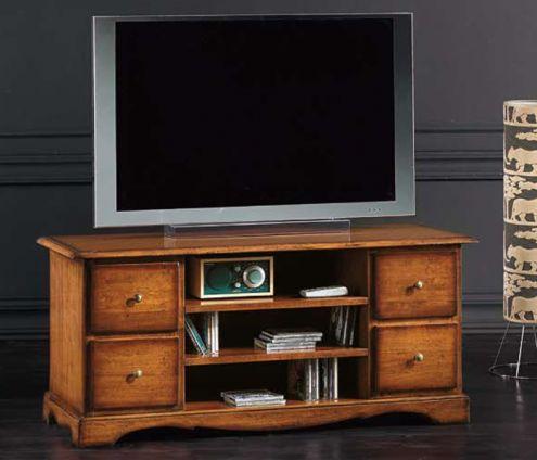 Porta Tv classico 4 cassetti - Nuovo