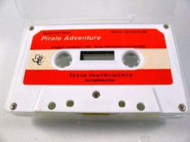 Cassetta gioco x TEXAS INSTRUMENTS TI99 Pirate Adventure Vintage