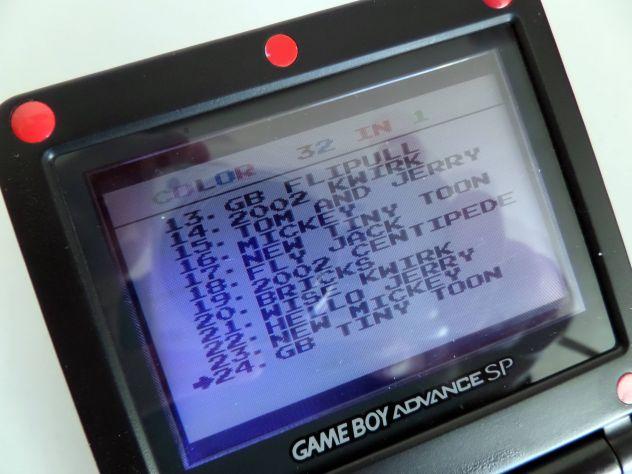 Cartuccia Game Boy Color / Advance. Multigioco 32 giochi in 1 - Foto 4