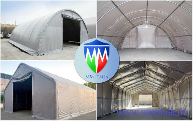 Tendostruttura Tensostruttura 10 x 40 x 5,70 mt, gallerie , tunnel Autostrade - Foto 8