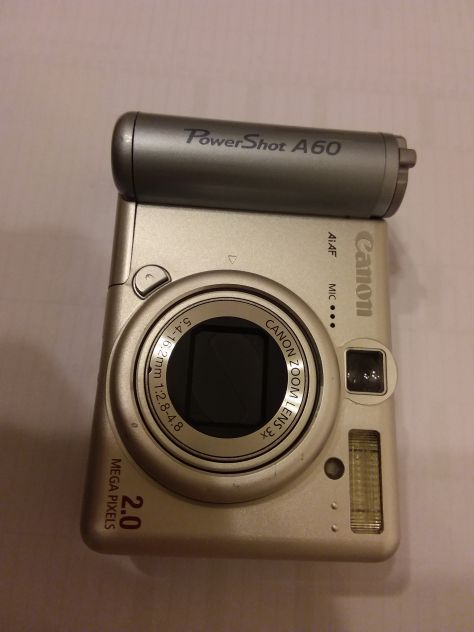 Fotocamera Canon  Power Shot A60 2.0 Mega Pixel  da REVISIONARE