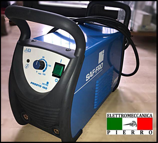 VENDITA SALDATRICE INVERTER SAF-FRO  Air Liquide  PRESTO 160 AMP - PREZZO 390€