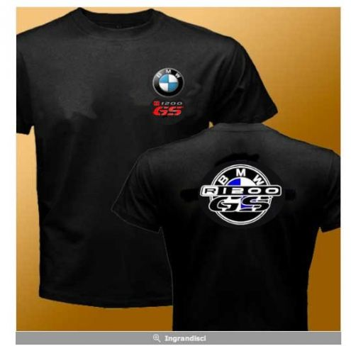 T-SHIRT BMW R1200GS F800GS 1150 1100 650 GS MOTORRAD VARI COLORI S-XXXL