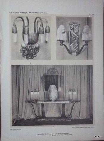 1925 CLOUZOT: LA FERRONNERIE MODERNE PORTFOLIO - Foto 6