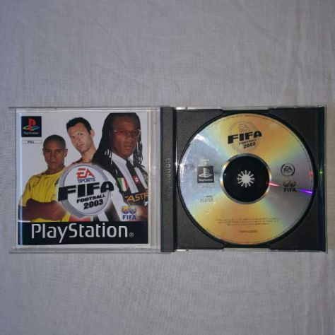Fifa 2003 - Gioco PS1 - EA Sport - Foto 2