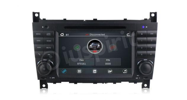 Autoradio 2DIN navigatore Mercedes W203 W209 W203 W407 W467 C200 C220 - Foto 6