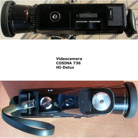 Videocamera COSINA 736 HI-Delux  silent super 8 cartridge made in Japan - Foto 5