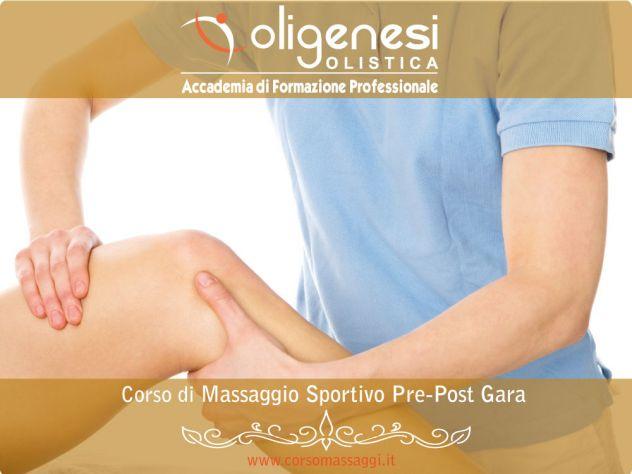CORSO DI MASSAGGIO SPORTIVO PRE-POST GARA a Firenze Reggio Emilia