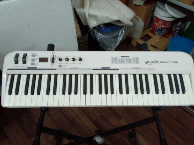 Tastiera MIDI Prodipe 61C