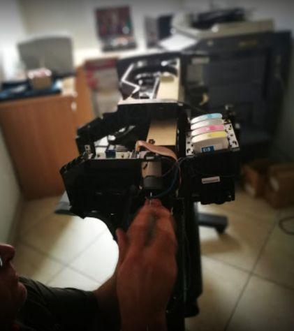 Riparazione plotter HP Designjet a Brescia - Foto 3