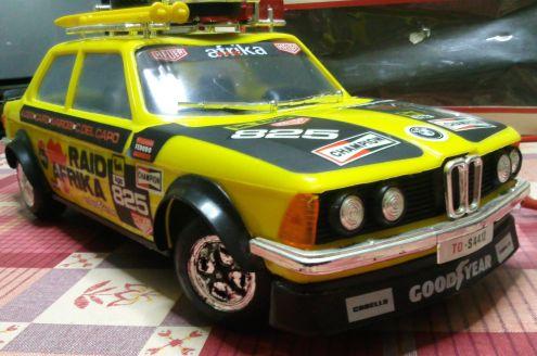 Modellino giocattolo BMW telecomandato anni 80 - Foto 3