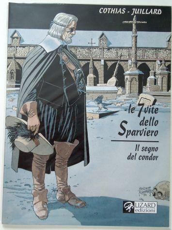 Serie Le 7 vite dello Sparviero, collana Avventure della storia di Glenat - Foto 5