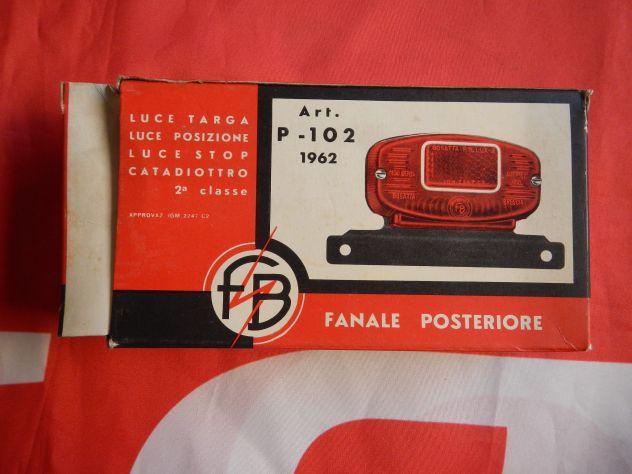Fanale posteriore universale moto anni 60 - Foto 2