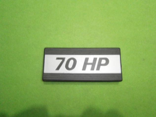 Fiat 127 70 HP SPORT scritta targhetta logo NUOVA - Foto 2