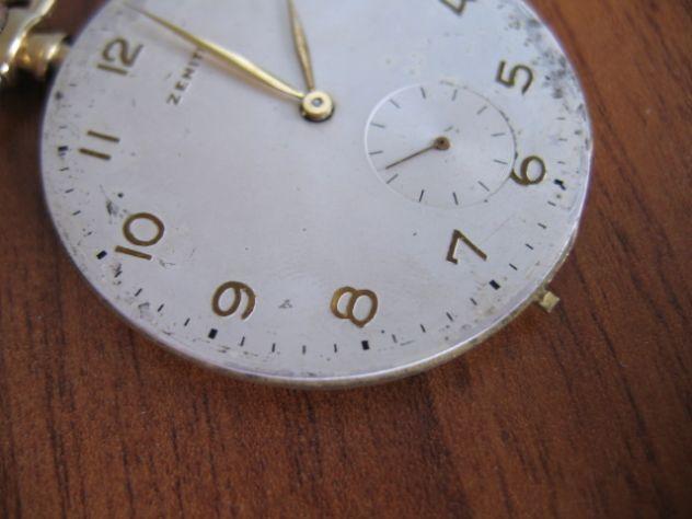 Orologio da Tasca Taschino Cipolla ZENITH Oro 18 K - Primi '900 - Foto 10