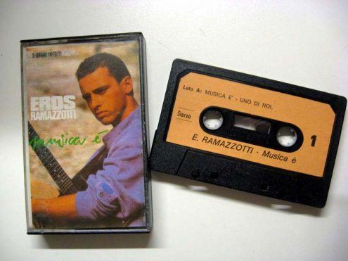Musicassetta del 1988-Eros Ramazzotti Musica e '