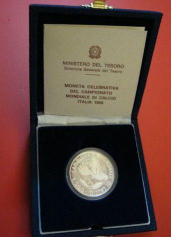 500 LIRE MONDIALI CALCIO ITALIA 1990