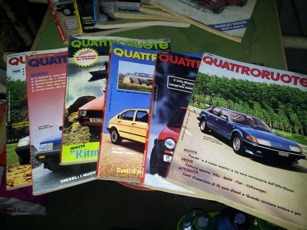 Riviste QuattroRuote 1980 - 81 - 82 - 83 - 84 - 86