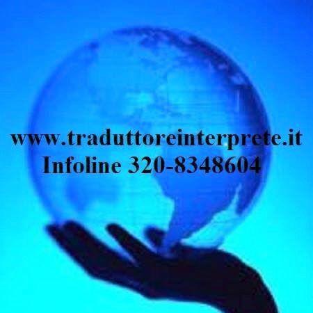 Interpreti e Traduttori Roma - Info al 320.8348604