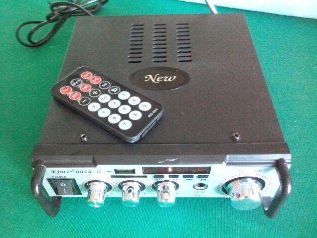 Karaoke stereo hi-fi amplificatore bluethooth multiuso 50 watt - Foto 5