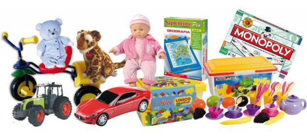 Cerco stock di giocattoli nuovi non usati