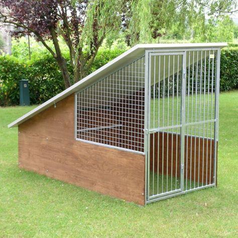 Box per cani con recinto coperto