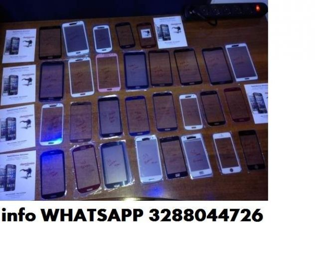 Vetro samsung s2 s3 s4 note 2 3 iphone 3 3g 4 4g 4gs