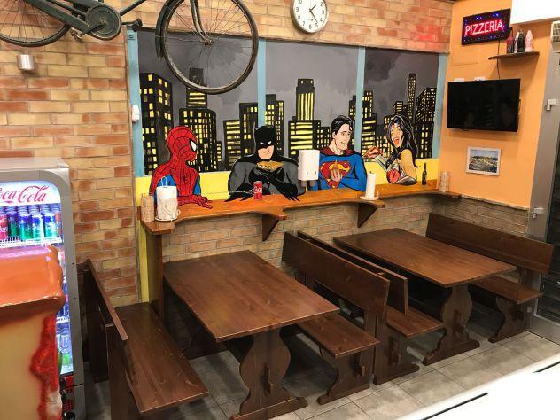Panche E Tavoli Per Ristorante Pub E Pizzeria Color Noce Annunci Rimini