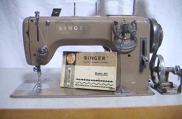 Macchina da cucire Singer 807 (PREZZO TRATTABILE)
