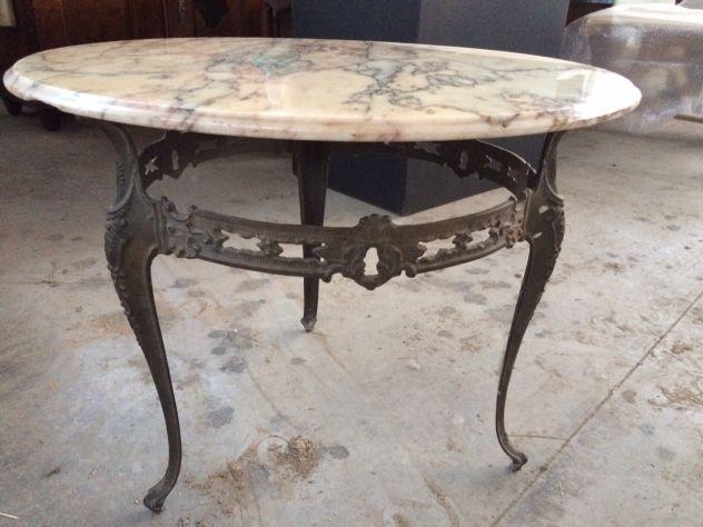 Tavolini Da Salotto Di Marmo : Tavolino da salotto in bronzo e marmo variegato annunci pordenone