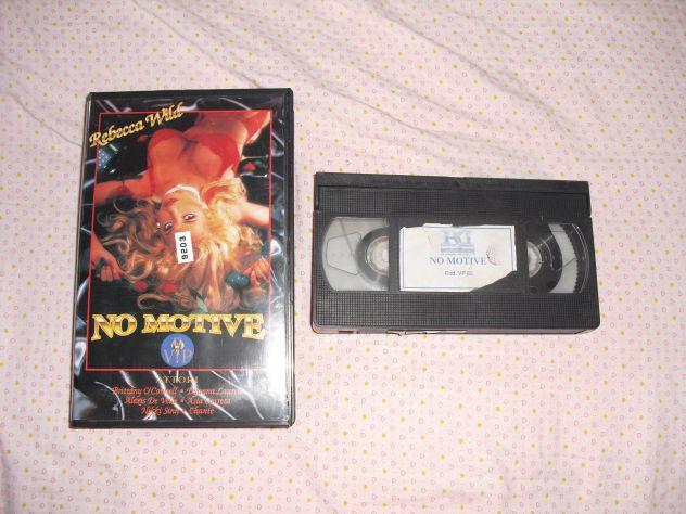 NO MOTIVE - REBECCA WILD BRITTANY O'CONNELL VHS RARA V.M. 18 ANNI