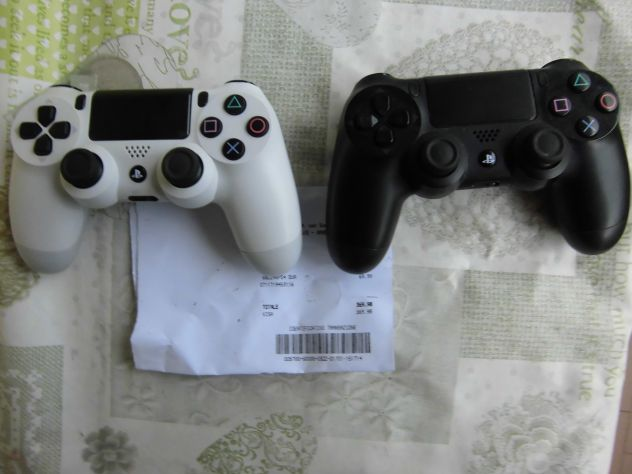 PS4 Controller+Dock Duo Caricatore Rapido nuovo