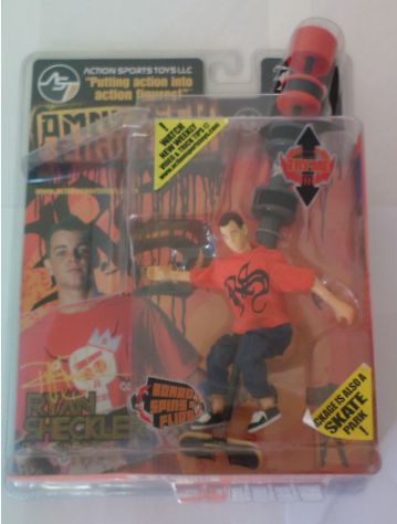 Omni Tech Ryan Sheckler Skate Action Figure NUOVO