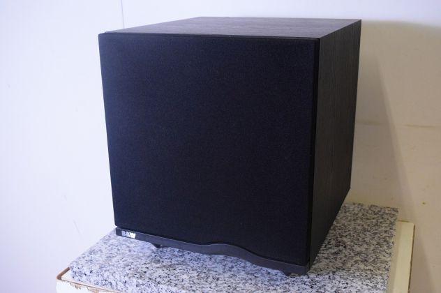 SUBWOOFER ATTIVO B&W ASW 500 SUB AMPLIFICATO 25cm