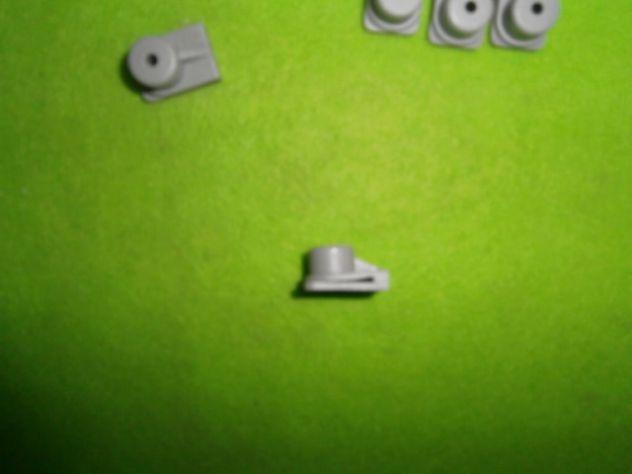 Fiat 500 e Fiat 126 ganci fermi clips tasche laterali  NUOVI (10pz.) - Foto 5