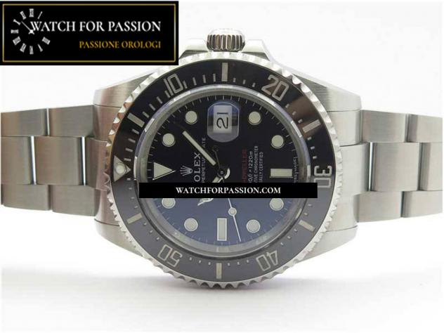 REPLICA ROLEX SEA-DWELLER 2017 BASELWORLD BEST EDITION 904L BRACCIALE E QUA … - Foto 5
