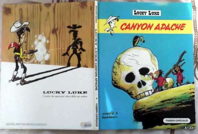 LUCKY LUKE CANYON APACHE 1982