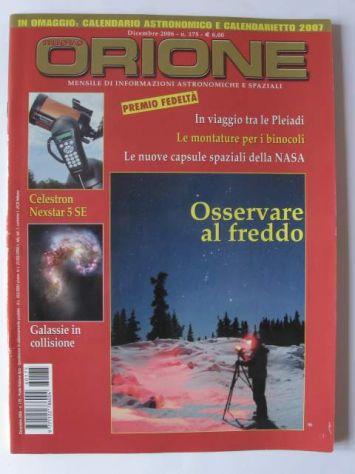 Nuovo Orione dicembre 2006