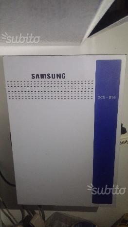 Centralino telefonico Samsung DCS 816 + 7 telefoni Samsung fissi