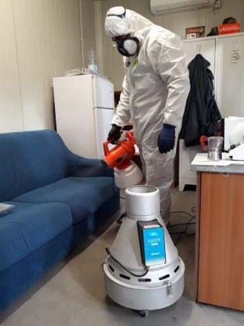 Disinfezione ambienti e di Impianti Aeraulici - Foto 3