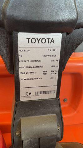 Transpallet a colonna Toyota - Foto 2