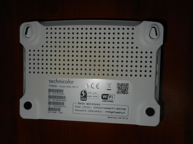 MODEM ROUTER ADSL WIFI TECNICOLOR - Foto 3