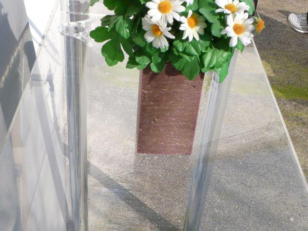 Tavoli plexiglass con gambe cromate design expo - Foto 6