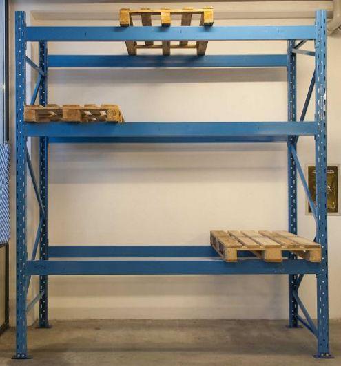 Scaffali Porta Pallet Usati.Scaffalatura Industriale Portapallet 12 Bancali Annunci Verona