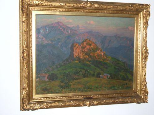 L. Pasini, importante dipinto a olio del 1925