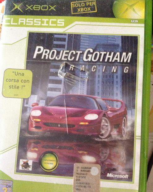 Project Gotham racing per XBox