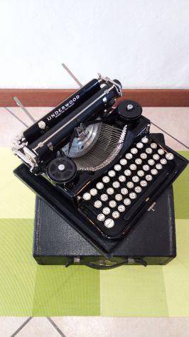 Macchina da scrivere antica Underwood N.4 Portatile - degli anni 20'